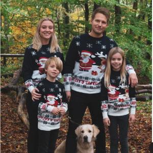 Familjepaket jultröjor