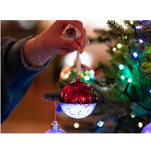 Julgranskula med högtalare - Julpynt