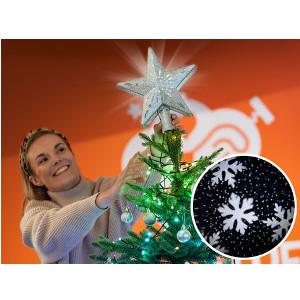 Julgransstjärna med projekter - Bra julstjärna