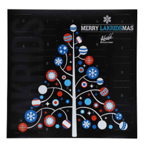Lakritskalender - Merry Lakridsmas - Julkalender lakrits