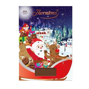 Thorntons chokladkalender - Julkalender med mjölkchoklad