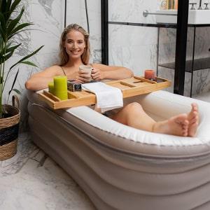 Uppblåbart badkar - Tubble Royal