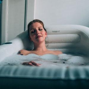 Uppblåsbart badkar - Tubble