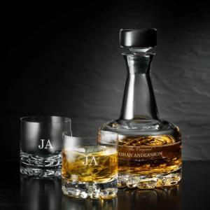 karaff Orrefors - Julklappstips whisky