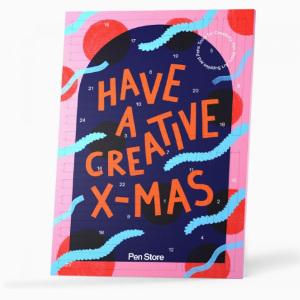 penstore adventskalender barn - Kreativ julkalender med pennor