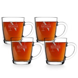 teglas med gravyr - Unik julklapp till den som älskar te