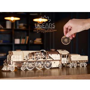 3D pussel-tåg
