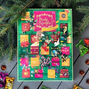 Adventskalender med chokladtryfflar - Monty Bojangles
