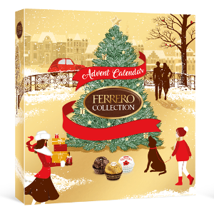 Ferrero chokladkalender 2021