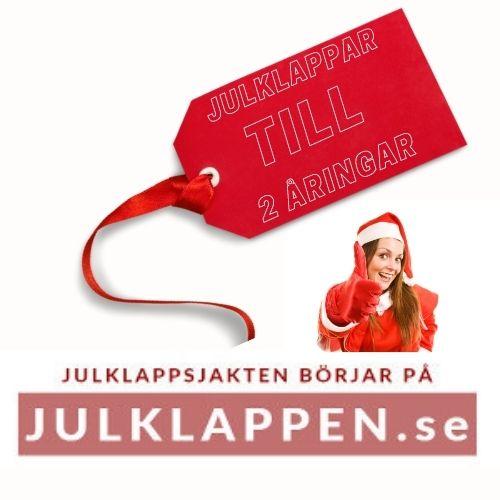 Julklapp 2 år - Julklappstips till 2 åring
