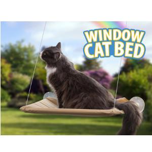 Kattbädd för fönster - Julklapp till husdjur 2021