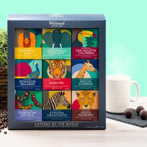 Presentask med kaffe - Julklappstips box