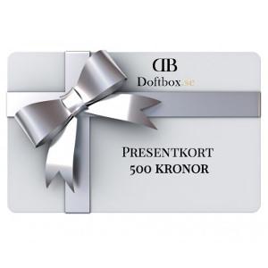 Presentkort doft - Sista minuten julklapp