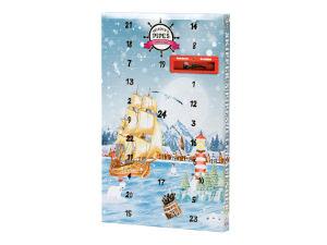 Skipper's Pipe adventskalender med lakrits