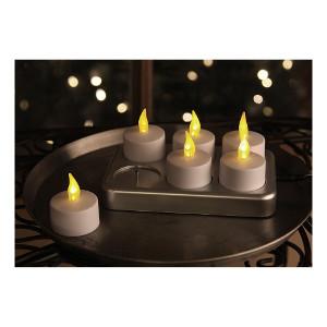 Uppladdningsbara LED-värmeljus