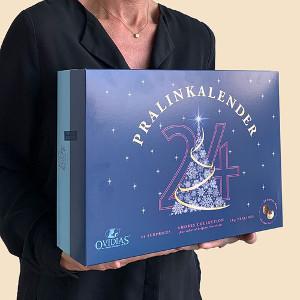 Pralinkalender för två - Chokladkalender