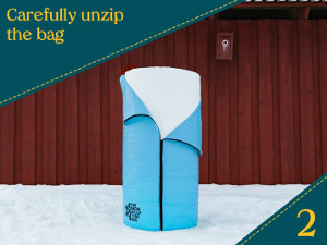 bästa säcken för att göra skulpturer i snö